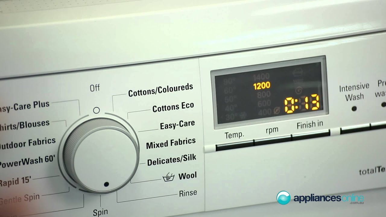 Importance of Spin Speed in Washing Machines UK